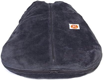 Charcoal X-Large Gunamuna Fleece Gunapod Wearable Baby Sleepsack