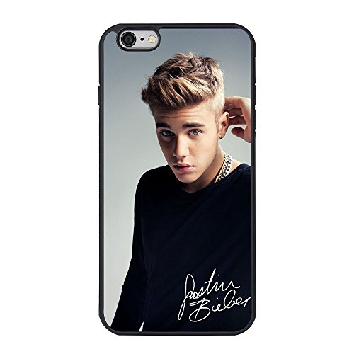 """Justin Bieber iPhone 6 plus Case,Justin Bieber Cell Phone Case for iPhone 6 plus/6s plus 5.5"""" TPU Case"""