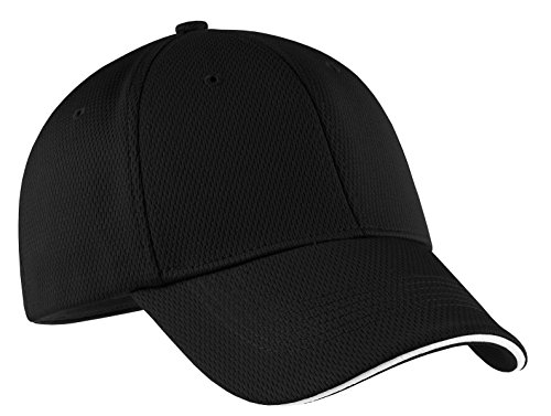 (Nike Golf - Dri-FIT Mesh Swoosh Flex Sandwich Cap. 333115)