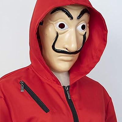Top WHY Disfraz de Cosplay Unisex Adults Kids Red para Monos de La ...
