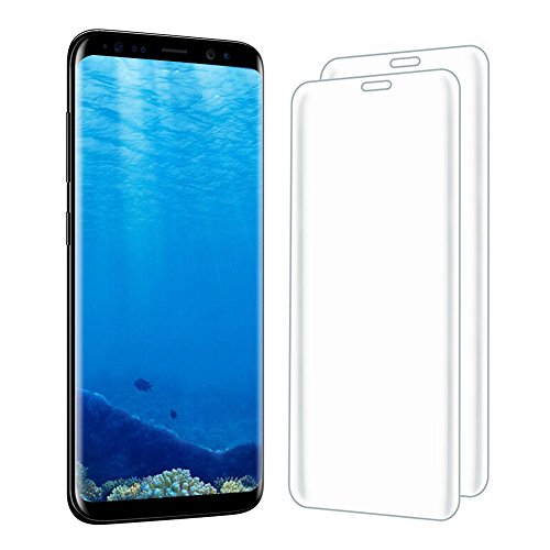 [2 Pack] Samsung Galaxy S8 Plus Screen Protector, Hattomen 3D Full Coverage Tempered Glass Protector for Samsung Galaxy S8 Plus, 9H Hardness, Anti-Scratch, Anti-Bubble, High Definition, Ultra Clear