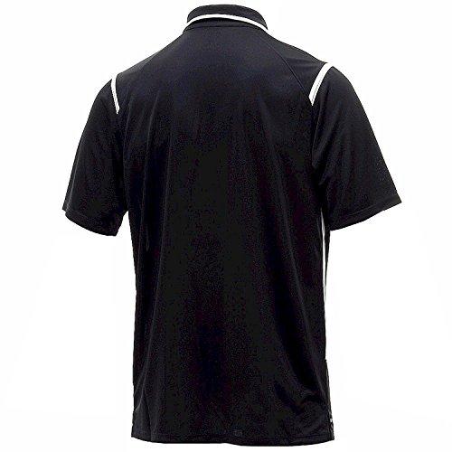 T-Shirt da uomo manica corta Nike Dri-Fit Game Day (XXL, nero / bianco)
