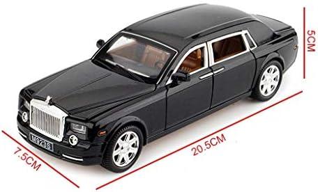 YN モデルカー シミュレーション合金ロールスロイス車モデル6オープンドア子供車のおもちゃ男の子クリスマスギフト ミニカー (Color : Gold)