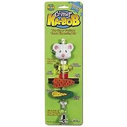 Super Pet Critter Ka-Bob Treat Dispenser Cage Toy (8 Inch L x 1 1/2 Inch W)