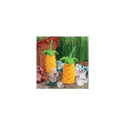 Kunststoff-Palm Tree Becher - 1 Dutzend (BULK)