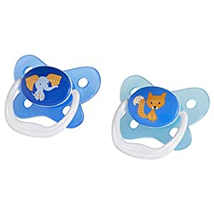 Dr Brown's Prevent Butterfly Pacifier, Boys, Stage 2, 6-12 Months