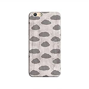 Cover It Up - Grey Clouds F1s Hard case