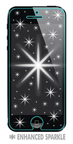 Iphone 5 / 5S / 5SE / 5C Screen Protector Diamond Tough Sparkles like Glitter [2 Pack]]