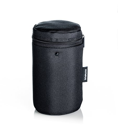 Olympus Barrel Style Lens Case - Medium (Black)