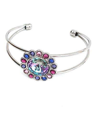 e Cuff Bracelet (Senior Multi Rainbow Light)