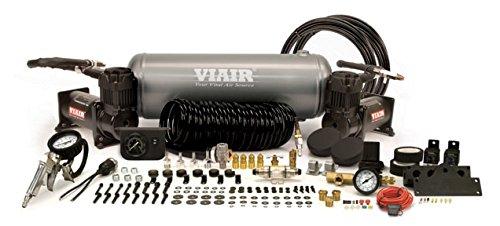 VIAIR 20016 Stealth Black Dual 400c Onboard Air Kit