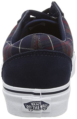 Old Plaid Adulto Dress Blue Unisex Vans Zapatillas Blues Skool U pwq7pPA