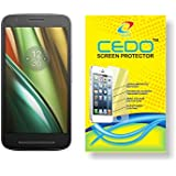 CEDO for Moto E3 Power Motorola E 3rd Generation - anti shatter Tempered Glass Screen Protector
