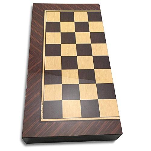 Design Backgammon Set (The 19'' Antique walnut Backgammon designs Board Game Set)