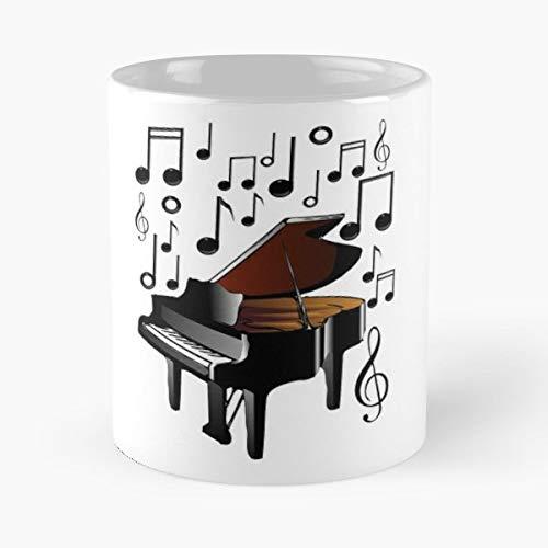 Coffee Concerto Gift (Pi - 11 Oz Coffee Mugs Unique Ceramic Novelty Cup)