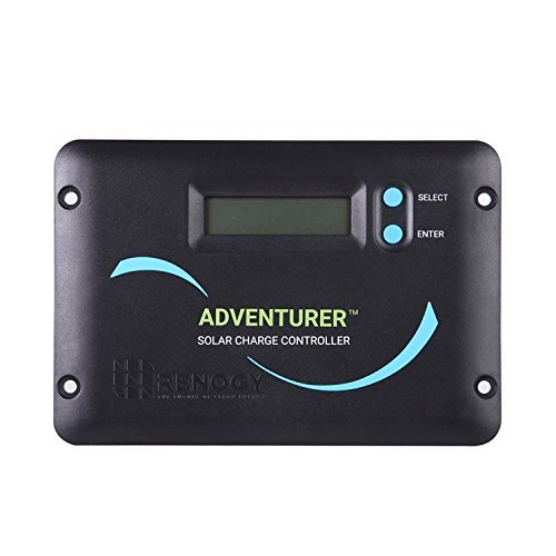 The Renogy Adventurer - 30A 12V PWM Flush Mount Charge Controller with LCD Display by Renogy