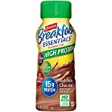 Carnation Breakfast Essentials High Protein Ready-to-Drink, Rich Milk Chocolate, 8 Ounce Bottle (Pack of 24) (Packaging May Vary)