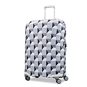 Samsonite Printed Luggage Cover-Medium, Infinity Grey