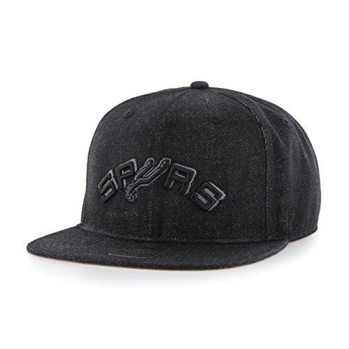 NBA San Antonio Spurs Nero Captain Adjustable Hat, Black, One - Girl Youth Adjustable Mlb Cap