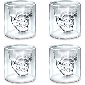 Amazon.com: Fred DOOMED Crystal Skull Shotglass: Shot Glasses ...