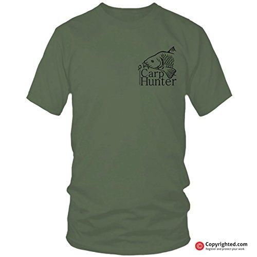 QBEC CARP HUNTER (s) fishing t-shirt