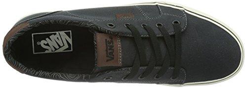 Vans M BISHOP  (WAXED CANVAS) Herren Sneaker Blau ((Waxed Canvas) / DV0)