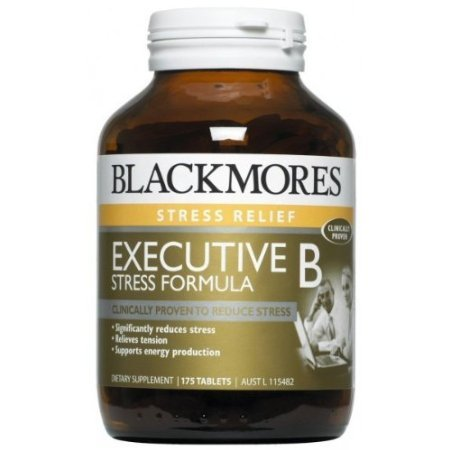 Blackmores Exec B 60 Tablets. [Get Free Herbal lozenges] by Judastice