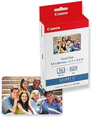 Canon 7739a001 Kc 36ip Photo Paper Inkjet 54x86mm 36 Kamera