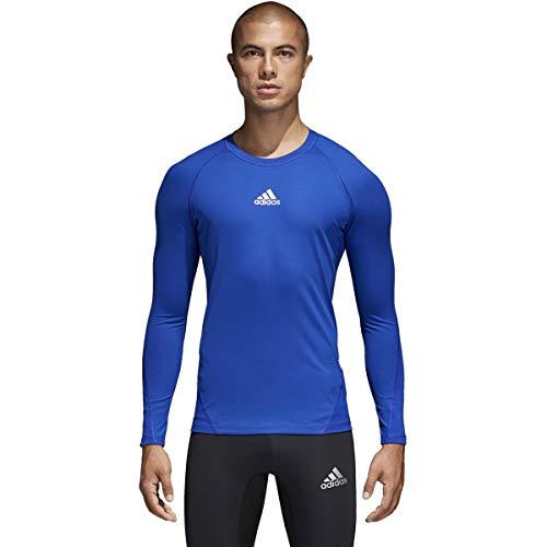 adidas Alphaskin Longsleeve Shirt- Mens Soccer