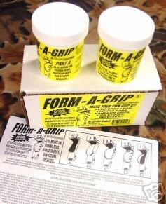 [FORM-A-GRIP Bow Grip Kit By Cir-Cut Archery - CUSTOM FIT YOUR BOW GRIP] (Compound Grip Kit)