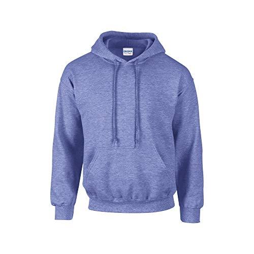 - Gildan Heavy Blend Adult Unisex Hooded Sweatshirt/Hoodie (L) (Heather Sport Royal)