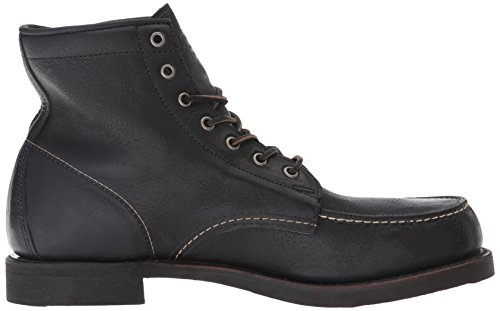 Frye Mens Arkansas Moc Toe Boot Nero