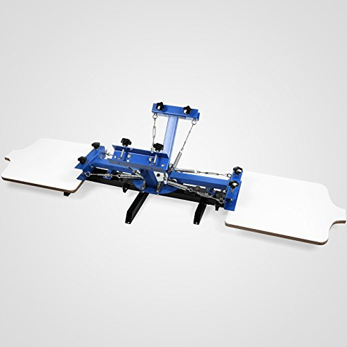 Screen Printing Press 4 Color 2 Station by Home Based Equipment
