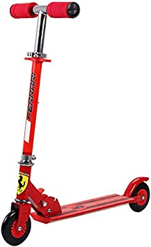 Ferrari Kids Two Wheels Scooter, Red