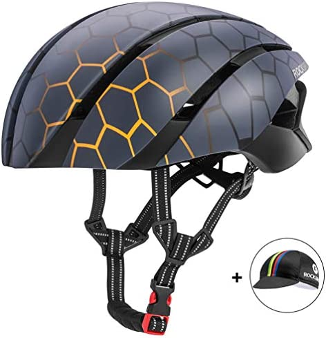 ROCK BROS Aero Bike Helmet Cycling Helmet TT Road Bike Helmet for Women Men Bicycle for Road Bike