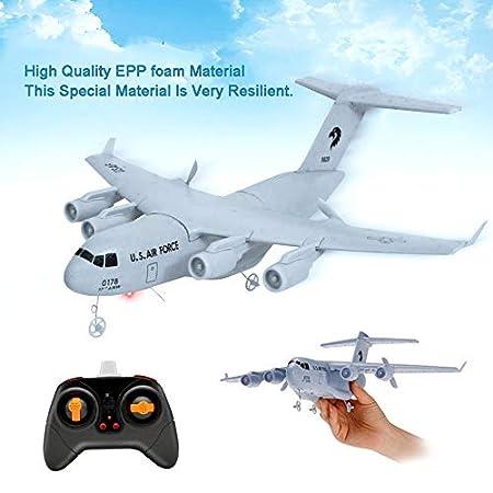 loonBonnie C17 Transporte 373mm Envergadura EPP RC Drone Avión 2.4 ...
