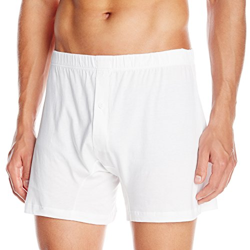 2 ( X ) Ist Boxers (2(X)IST Men's Pima Cotton Knit Boxer, White, Medium)