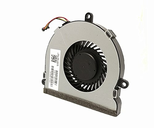 Replacement Cpu Cooling Fan for HP 250 G4 255 G4 Notebook 15-AC 15-AF Series, 4-Pin 4-Wire SPS 813946-001 by Dragon King (Image #2)