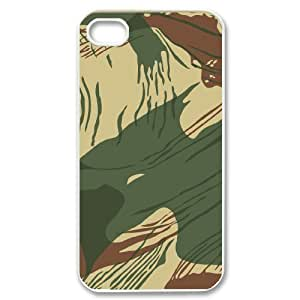 Camouflage Pattern ZLB560389 Customized Phone Case for Iphone 4,4S, Iphone 4,4S Case