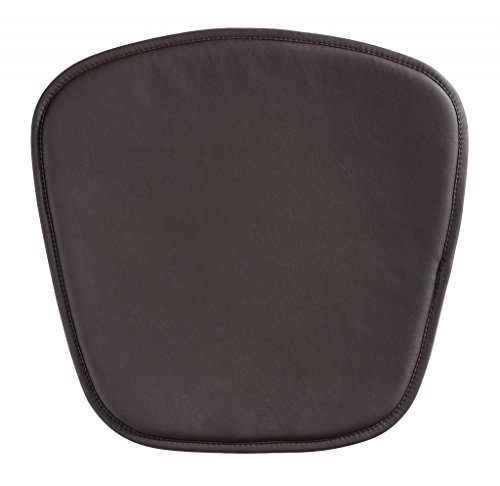 Modern Contemporary Cushion Pillow, Brown Leatherette by America Luxury - Chairs