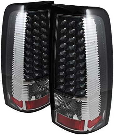 2007 Classic Midnight Black Smoked LED Tail Lights Pair Left+Right 2004 2005 For 2003-2006 Silverado//Sierra
