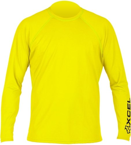 Men's XCEL VENTX Loose Fit Rashguard - Yellow, M