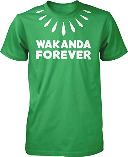 NOFO Clothing Co Wakanda Forever Men's T-Shirt, XL - Green T-shirt Forever
