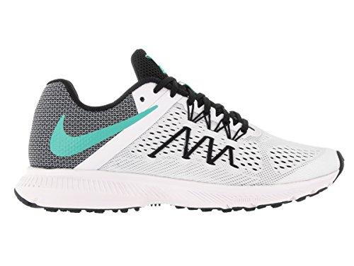 Nike Mädchen Wmns Zoom Winflo 3 Laufschuhe White/Hyper Turq-Black
