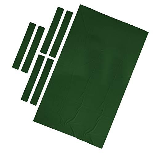 - CUTICATE Billiard Cloth - Professional Pool Table Felt fits Standard 9 Foot Table - Performance & Durable - Choose Colors - Green