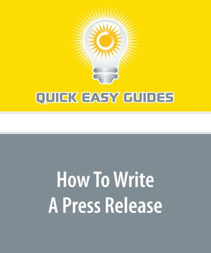 Read Online How To Write A Press Release PDF