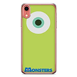 Loud Universe Monsters Mike iPhone XR Case Monsters Inc Mike Wazowski iPhone XR Cover with Transparent Edges