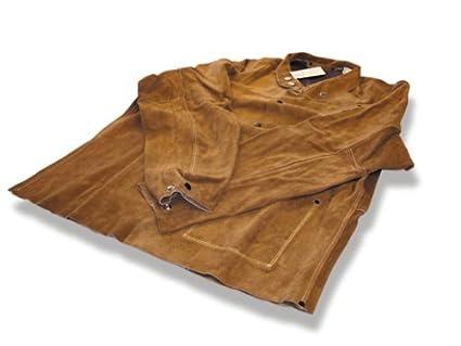 US Forge 99419 chaqueta de cuero para soldar, XL, ...