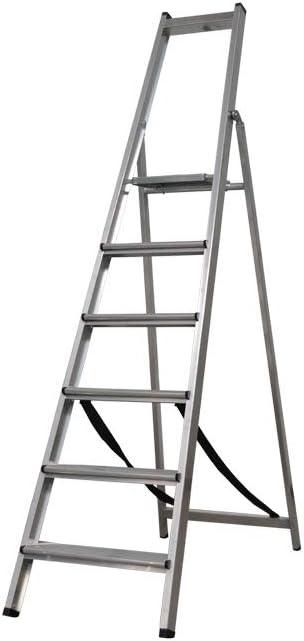 Cofan 09401051 Escalera Reforzada 6 Peldaños 1,97 m: Amazon.es: Bricolaje y herramientas