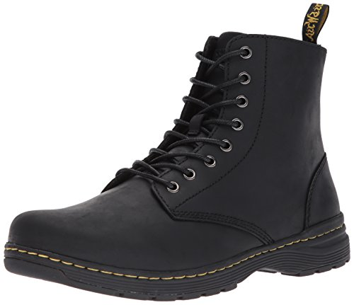 Dr. Martens Men's Monty Combat Boot, Black, 9 Medium UK (10 - Black Monty